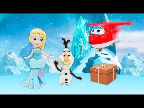 Подарок для Эльзы Холодное сердце. Видео для детей про Супер крылья