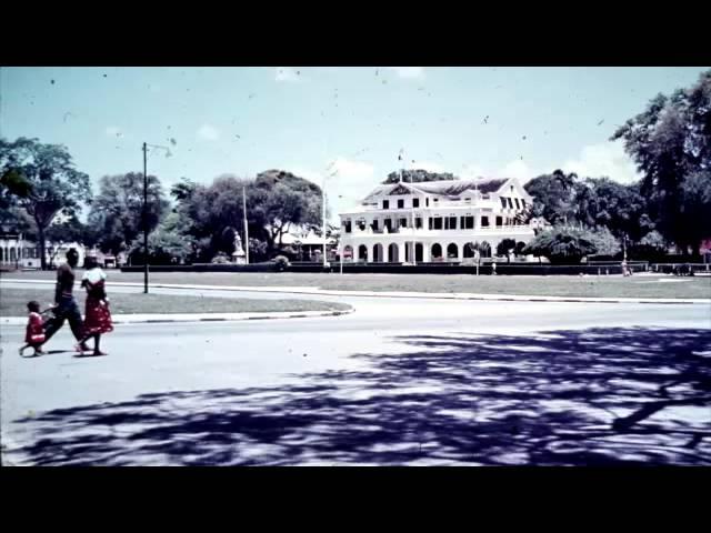 Suriname in oude foto's  (ca 1960 Paramaribo)