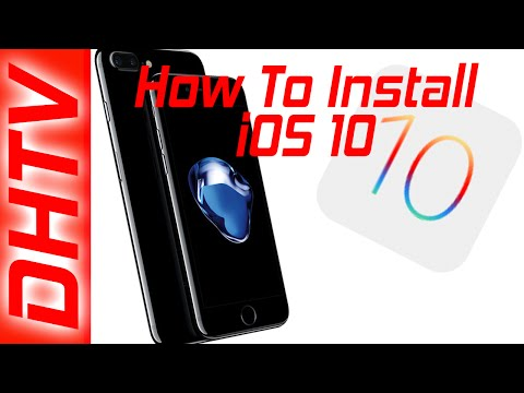 How To Easily Update and Install iOS 10  iPhone, iPad, iPod Touch iTunes