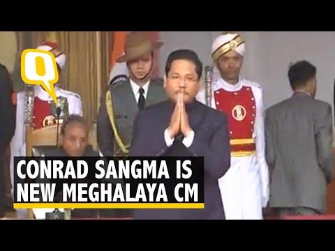 NPP's Conrad Sangma Swears In as Chief Minister of Meghalaya