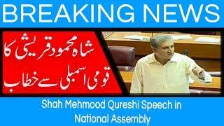 Shah Mehmood Qureshi Speech in National Assembly | 15 August 2018 | 92NewsHD