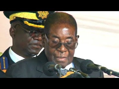 President Mugabe launches a veiled attack on white South Africans