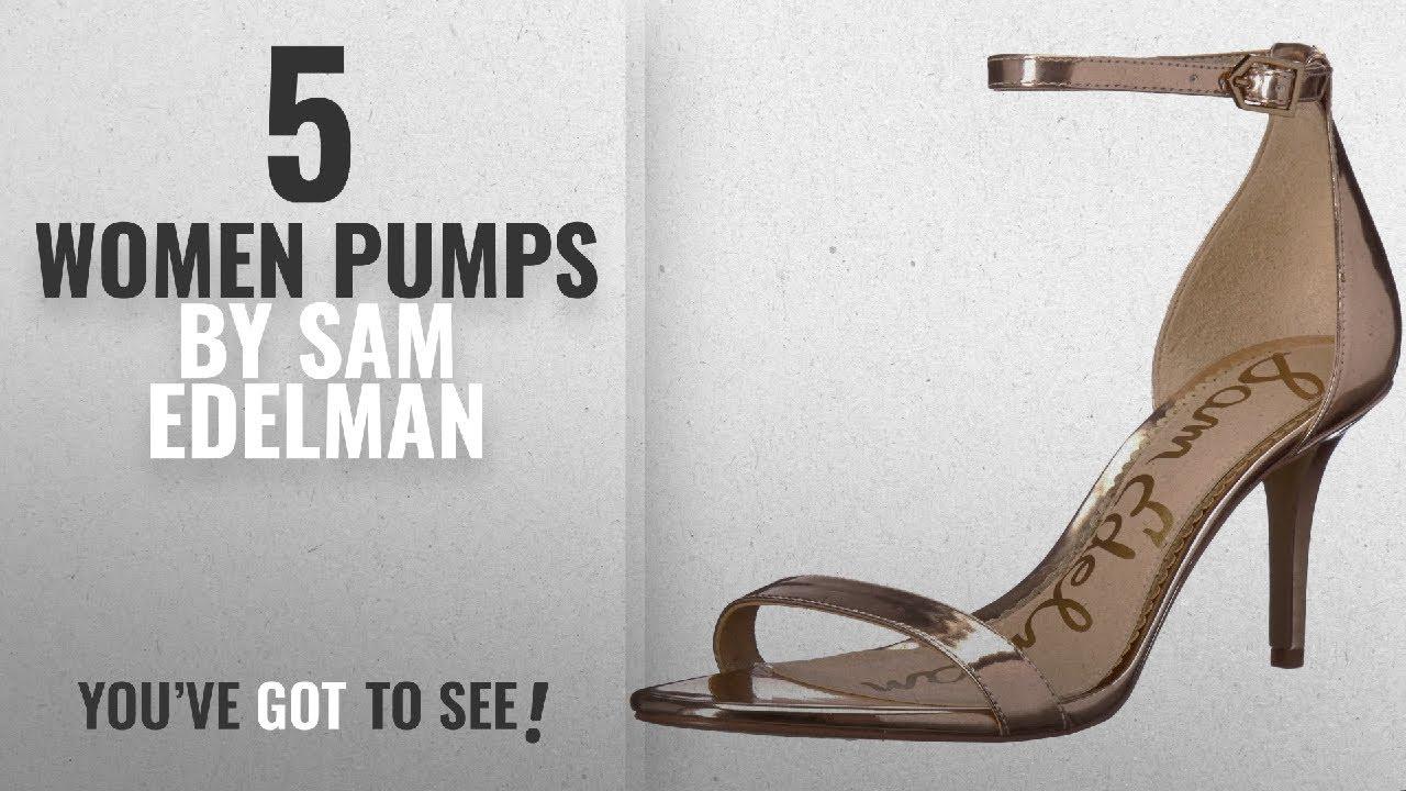 138c0b18507 Top 5 Sam Edelman Women Pumps  2018   Sam Edelman Women s Patti Heeled  Sandal