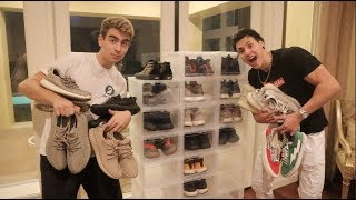 I BOUGHT AN ENTIRE $$$ SNEAKER COLLECTION!!! (SO MUCH HEAT)