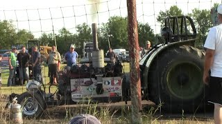 Continental AV1790 Gas Tank Motor In Tractor Pull