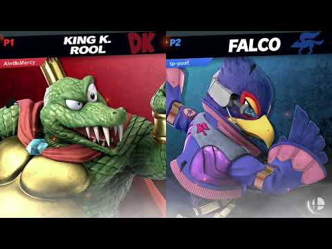 RtDD3 - LR1 - KnucklesUp (King K. Rool) Vs Postcard (Falco)