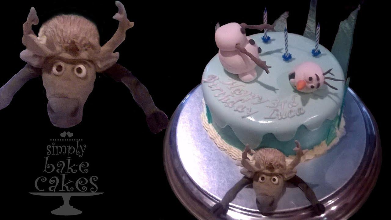 Sven Cake Topper