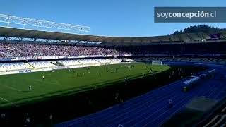 El final del partido entre Deportes Concepción y Ferroviarios