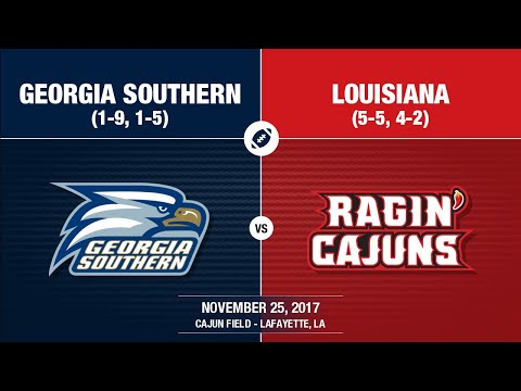 2017 Week 13 - Georgia Southern at Louisiana