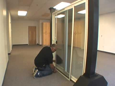 Screen Adjustment for Atrium Patio Doors & Screen Adjustment for Atrium Patio Doors - YouTube