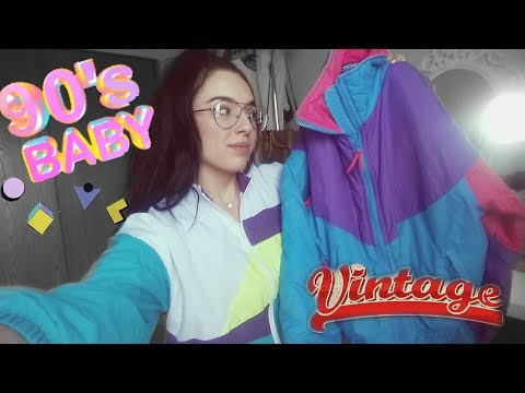 90s VINTAGE & TRENDY clothing haul + thrift haul