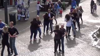 Trondheim International Flashmob West Coast Swing 2015