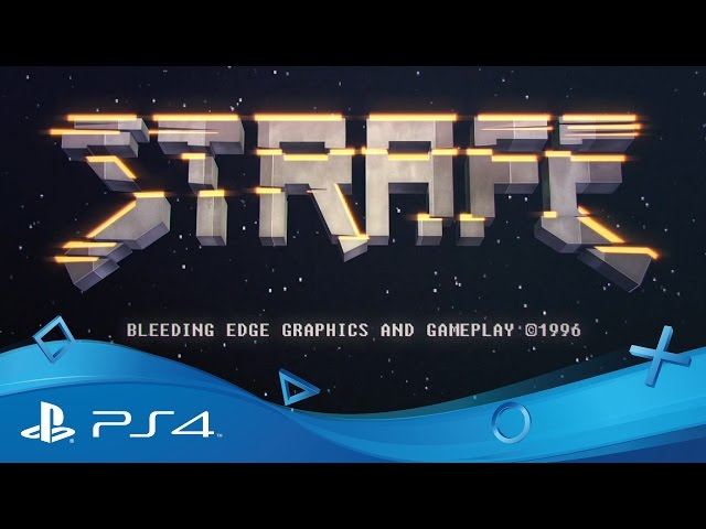 STRAFE | PSX 2016 Gameplay Trailer | PS4