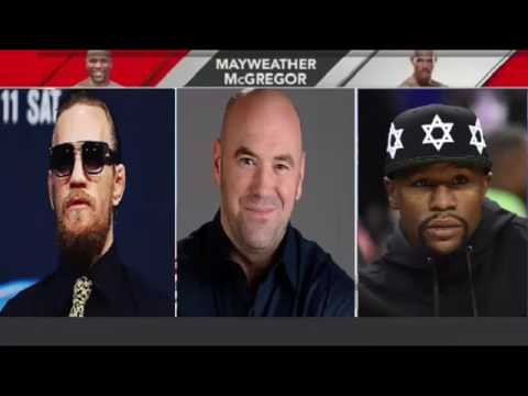 Floyd Mayweather vs  Conor McGregor Conference Call