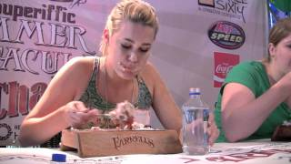 Farrell's 2010 Ice Cream Eating Challenge - Women's Competition