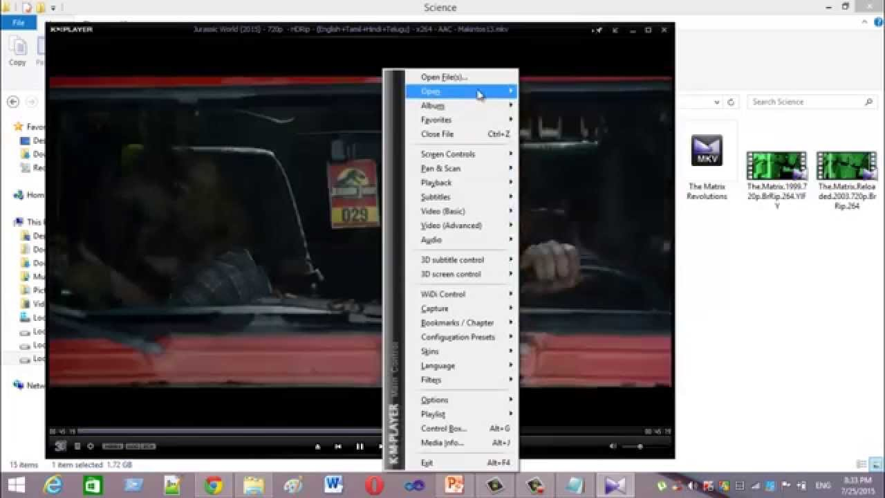 Как смотреть с кмплеером фильмы онлайн