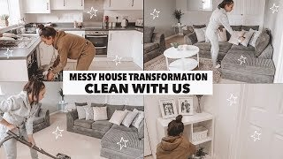 MESSY HOUSE TRANSFORMATION CLEAN WITH ME (SPEED CLEAN) - AYSE AND ZELIHA