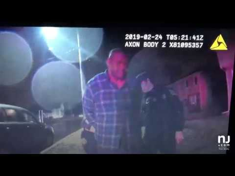 Body cam footage shows county jail warden get pulled over for drunk driving