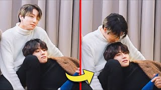 How JUNGKOOK and V treat each other (TaeKook)