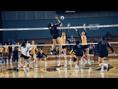 Hawaii Vs UCI Set 2 |2017 NCAA Womens Volleyball|