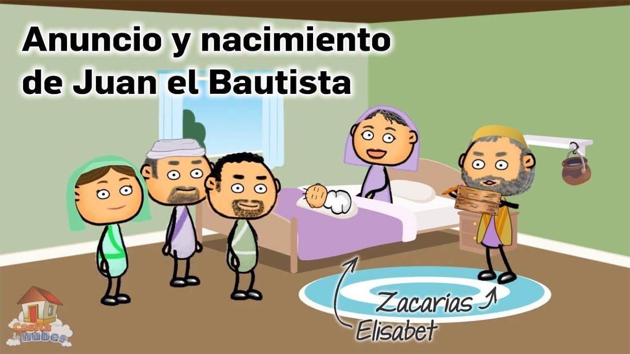 Anuncio y Nacimiento de Juan el Bautista (Zacarías y Elisabet) - YouTube
