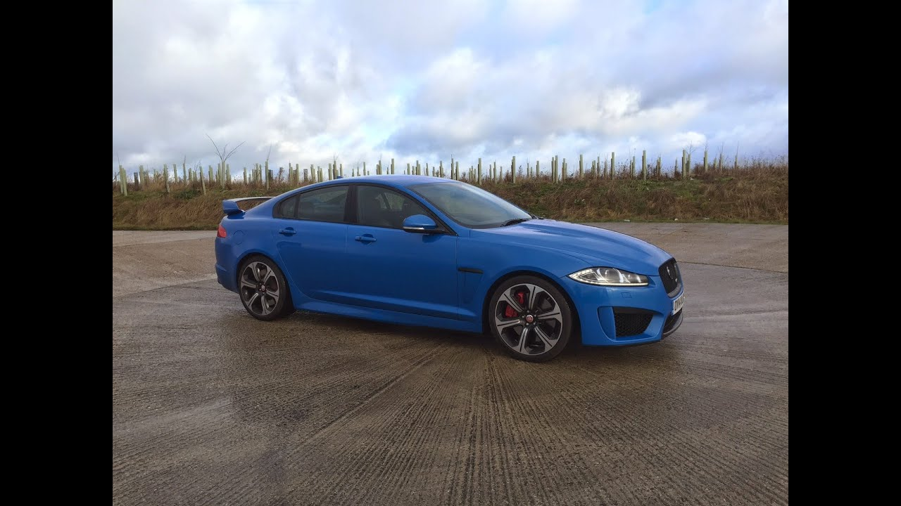 2015 Jaguar XFRS Review  YouTube
