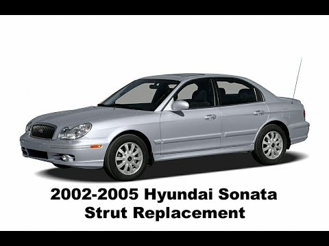 How to Replace 2002-2005 Hyundai Sonata Struts