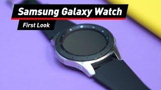 Samsung Galaxy Watch: Was kann die neue Smartwatch?