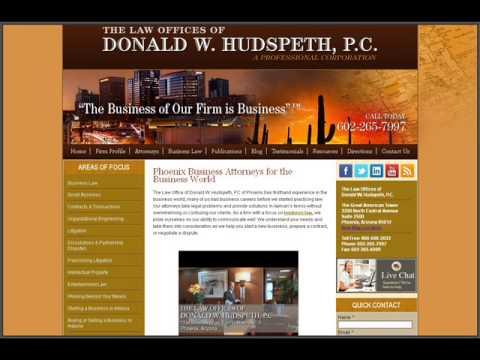 KJZZ AD - Arizona Business Lawyers - The Hudspeth Law Firm
