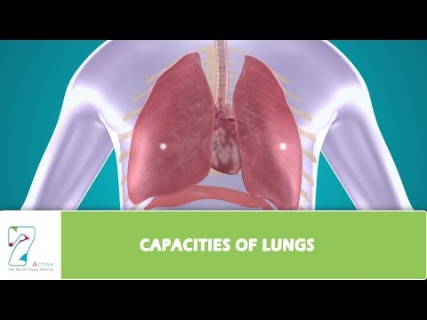 CAPACITIES OF LUNGS