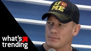 John Cena Talks Rematch w/ The Rock, WrestleMania 29, and More At Samsung SXSW 2013