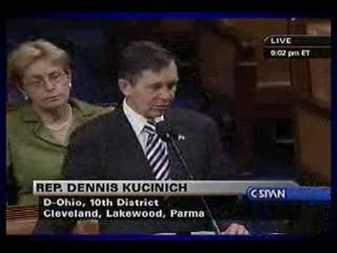 Kucinich: Articles of Impeachment 13.