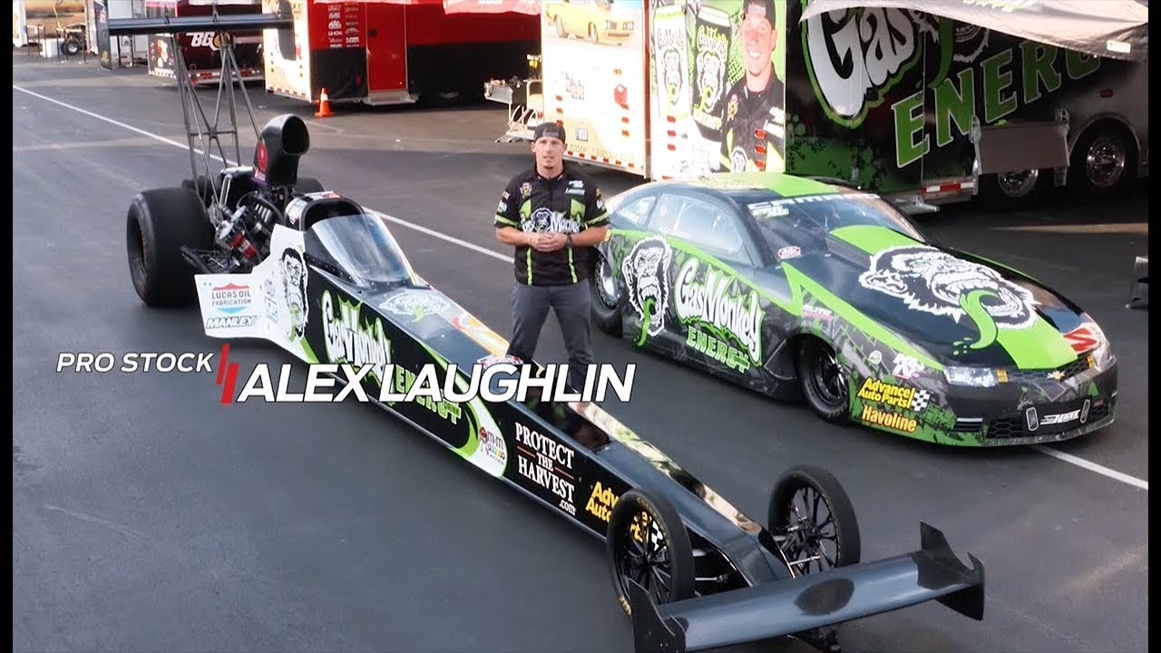 Alex Laughlin races two NHRA categories at the #ChevroletPerfUSNats ...