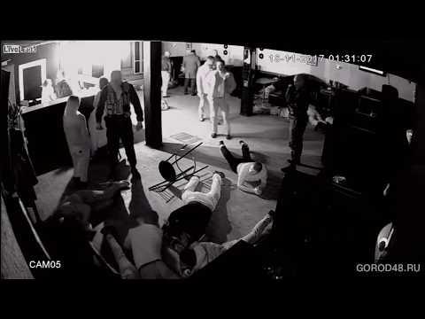 Police raid a nightclub in Lipetsk, Russia