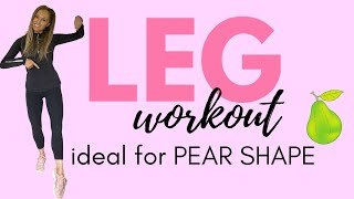 LEG TONING WORKOUT | HOME WORKOUT | SLIM YOUR LEGS & IDEAL FOR A PEAR SHAPE  by  LUCY WYNDHAM READ