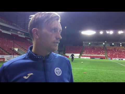 Post match v Aberdeen - Liam Craig 10/12/16