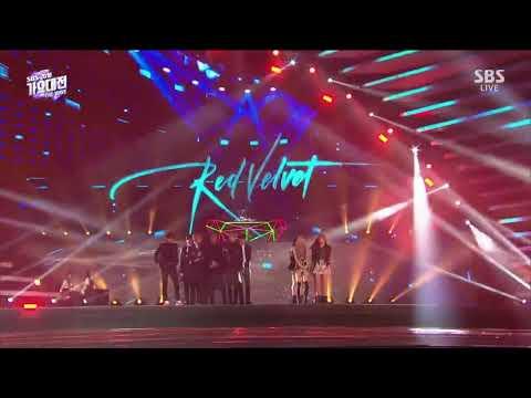 181225 BLACKPINK RED VELVET BTS CUT OPENING ARTIST @SBS GAYO DAEJUN 2018