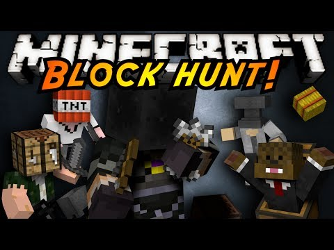 Minecraft Mini-Game : BLOCK HUNT!