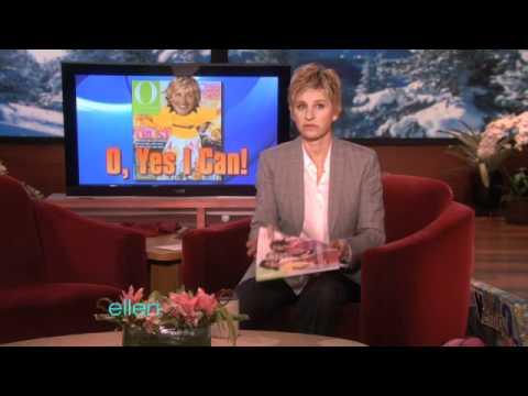 Ellen's Message from Oprah!