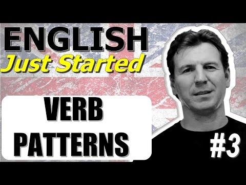 Английские глаголы - Verb Patterns - Gerund & Infinitive