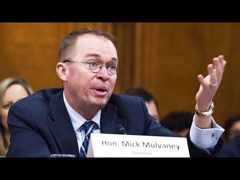 Mulvaney Begs Congress To Gut His Own Agency