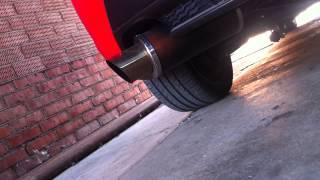 Звук выхлопа Mazda 3 MPS !