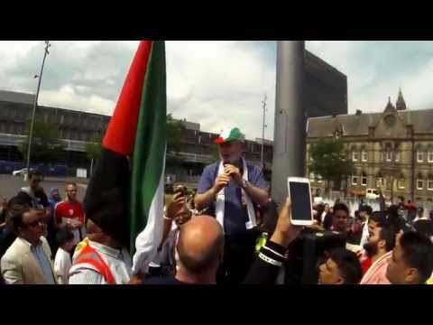 Voices of #GazaJ26, Middlesbrough - Speeches from the rally