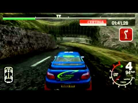 PSP Gameplay - Colin McRae Rally 2005 Plus