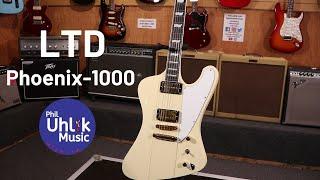 LTD Deluxe Phoenix-1000 - Phil Uhlik Music Demo
