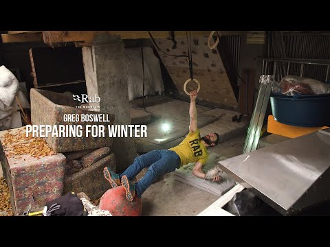 Rab: Preparing for Winter - Ice Axe Pulls