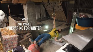 Rab: Preparing for Winter - Ice Axe Pulls