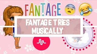 [ Fantage Skit ] Trying Musical.ly