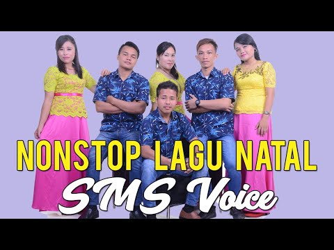 Full Album Natal Nonstop 24 Lagu ' SMS VOICE Feat ROMAN'S TRIO '