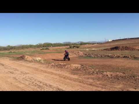 MotoTec Electric Dirtbike Riding at ET Motorsport Park